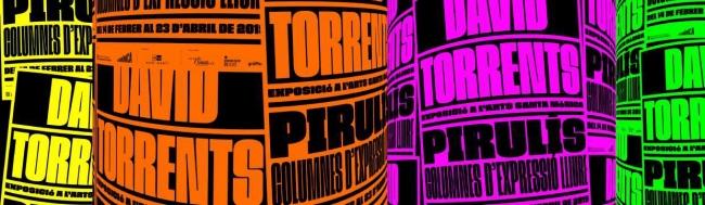David Torrents. Pirulís. Columnes d'expressió lliure — Cortesía de Arts Santa Monica