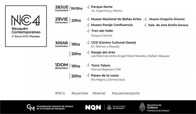 """NC4 2019 """"Puentes"""""""