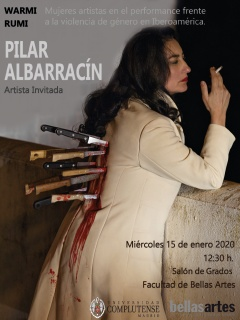 Cartel Pilar Albarracín