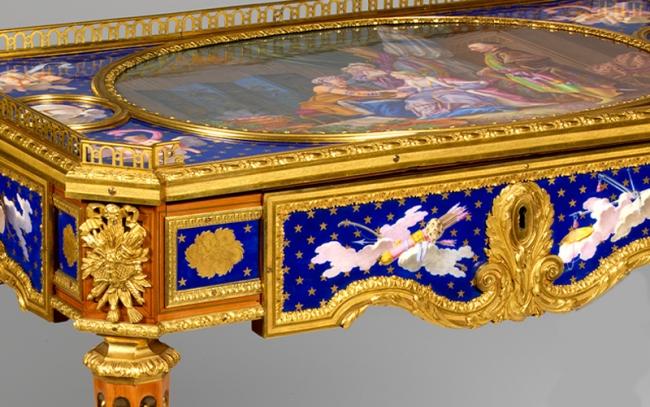 A Idade de Ouro do Mobiliário Francês. Da Oficina ao Palácio — Cortesía de la Fundação Calouste Gulbenkian