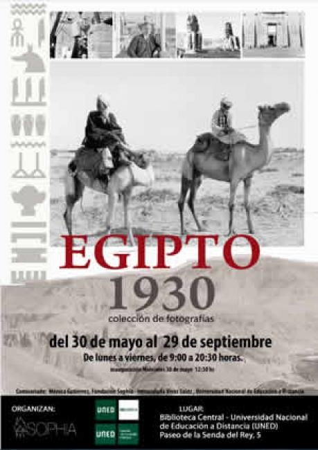 Egipto 1930 Biblioteca de la UNED - Madrid.