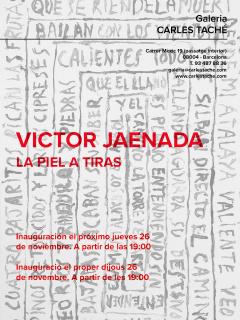 Victor Jaenada. La piel a tiras