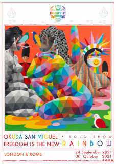 Okuda San Miguel. Freedom is the new rainbow