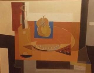 "VICENTE FORTE \""Naturaleza abstracta\"". 1958"
