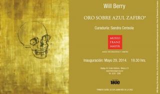 Oro sobre Azul Zafiro – Will Berry