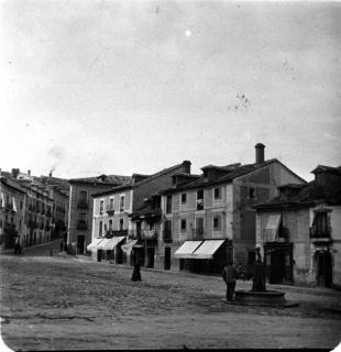 Augusto Arcimís: La Granja. Plaza de los Dolores, 1903