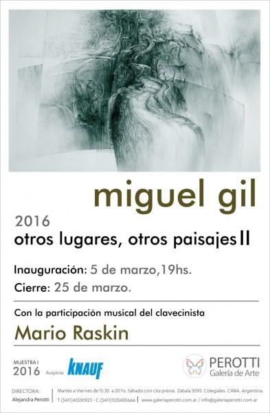 Miguel Ángel Gil, otros lugares, otros paisajes II
