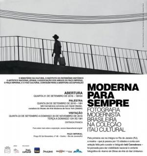 Moderna Para Sempre- Fotografia Modernista Brasileira na coleção Itaú Cultural