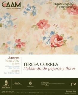 Teresa Correa, Hablando de pájaros y flores