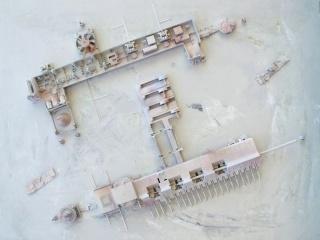 Javier Orozco, MD 15, Mixed technique and pieces on wood, 90x120 cm, 2017 – Cortesía de La Galería de Guadalajara