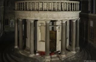 Un infierno cómodo. Cortesía de la Real Academia de España en Roma. Fotografía de Pedro Albornoz
