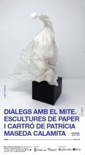 Diàlegs amb el mite. Escultures de paper i cartró de Patrícia Maseda Calamita