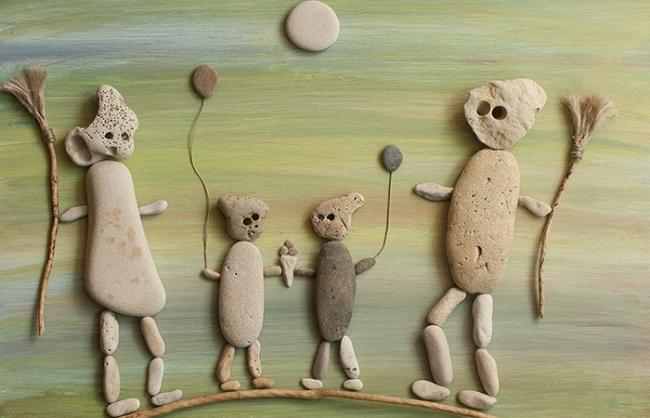 Mayka Kaïma. Familia de Fantasmas — Cortesía de la artista