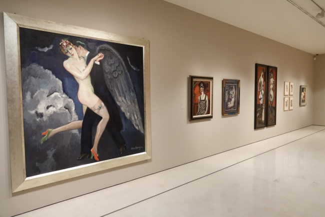 Vista de la exposición «Perversidad. Mujeres fatales en el arte moderno (1880-1950)» — Cortesía del Ayuntamiento de Málaga