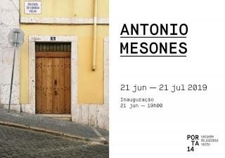 Antonio Mesones — Cortesía de Porta 14 calçada do correio velho