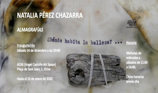 Natalia Pérez Chazarra. Almagrafías
