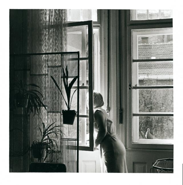Sylvia Plachy. Lulu, 1972
