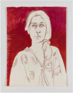 Luchita Hurtado, Untitled, c. 1970s. Crayon, graphite, and ink on paper 60.3 x 45.7 cm. © Luchita Hurtado. Courtesy the artist and Hauser & Wirth Photo: Jeff McLane