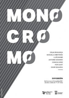 Exposición Monocromo, cartel