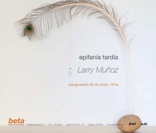 Larry Muñoz: Epifanía tardía