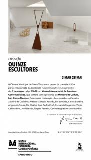 Quinze escultores