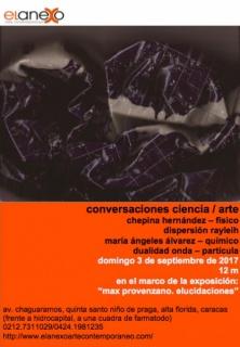 Conversaciones Ciencia / Arte