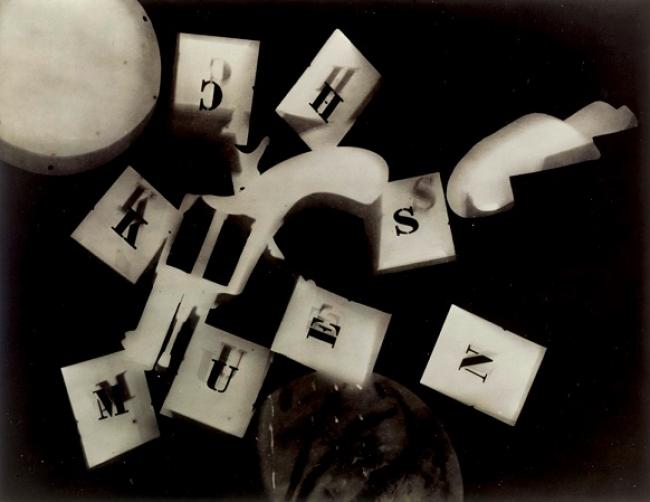 'Rayograma con revolver', de Man Ray. Cortesía del TEA