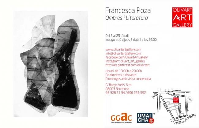 Francesca Poza. Ombres i literatura