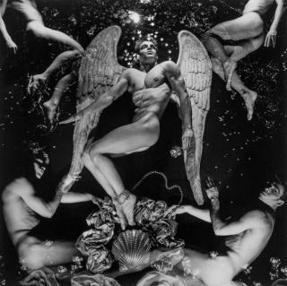 Steven Arnold. Heal-a-zation Swathe a la Glob Ba. 1981 – Cortesía de Espacio Mínimo