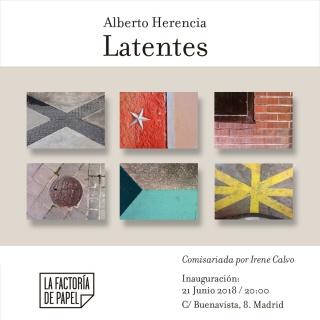 Alberto Herencia. Latentes