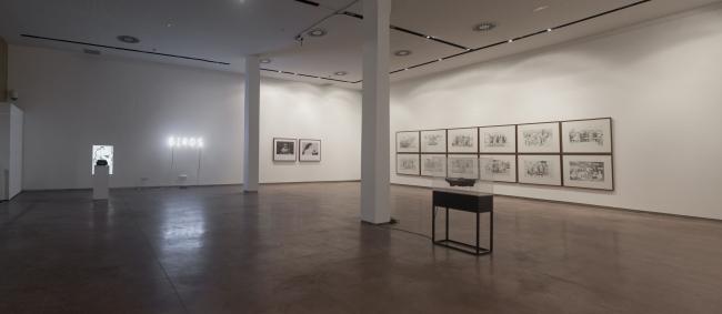 Vista de la exposición de Concha Martínez — Cortesía de Espai Rambleta
