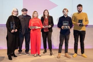 Imagen de la entrega de los Madrid Design Festival Awards — Cortesía de La Fábrica