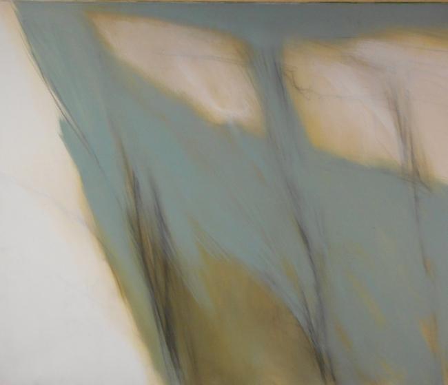Fernando Zóbel, Estudio para La corriente, 1981 — Cortesía del Salón du Connaisseur