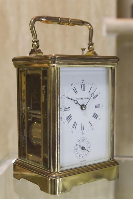 Reloj Tiffany — Cortesía del Salón du Connaisseur