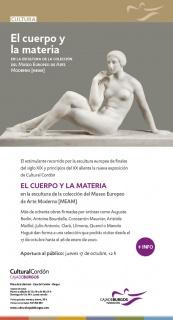 El cuerpo y la materia en la escultura de la colección del Museo Europeo de Arte Moderno (MEAM)