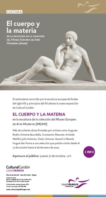 Resultado de imagen de exposicion el cuerpo y la materia en la escultura
