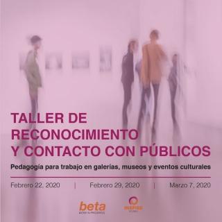 Taller de reconocimiento y contacto con públicos