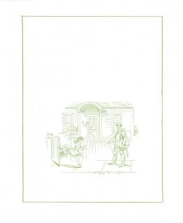 English for Foreigners. Book Illustrations, 2017 (detalle). Cortesía Stephen Prina, Galerie Gisela Capitain, Colonia y Petzel Gallery, Nueva York // Cortesía del Museo Tamayo