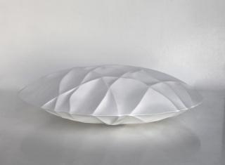 Tadanori Yamaguchi. Blanco sobre blanco — Cortesía de la Galería Cornión