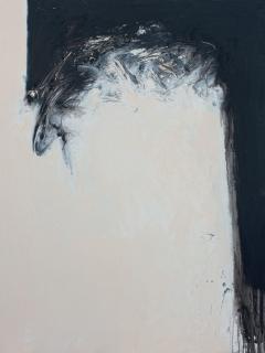 Rafael Canogar, Dintel, 1958. Oil on canvas, 200 x 150 cm. — Cortesía de Galeria Mayoral