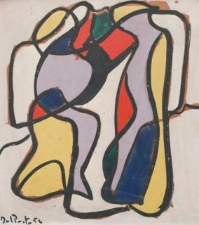 Juan del Prete, Composición, 1954