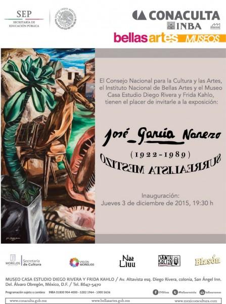 José García Narezo. Surrealista mestizo (1922-1989)