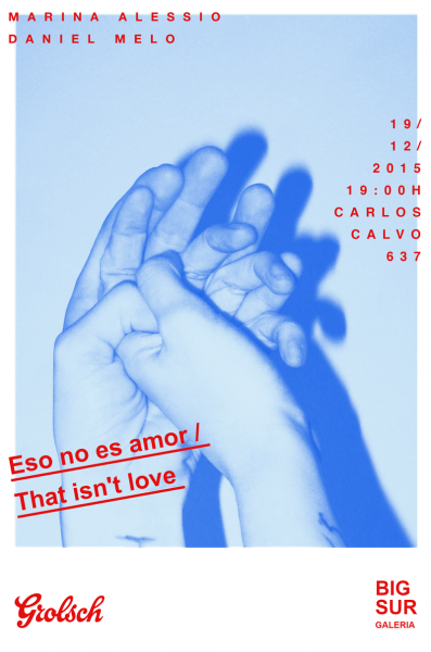 Eso no es amor / That isn´t love