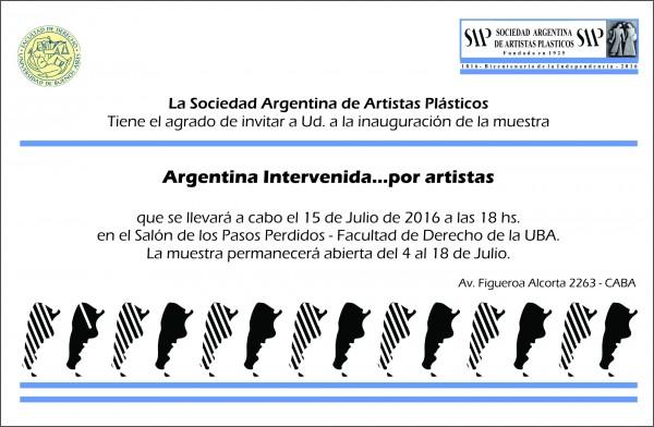 Argentina Intervenida... por artistas