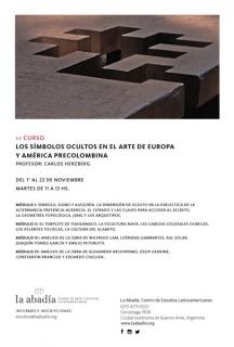 os símbolos ocultos en el arte de Europa y América precolombina