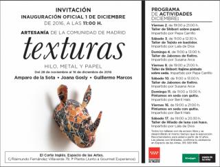 Invitación y programa de actividades