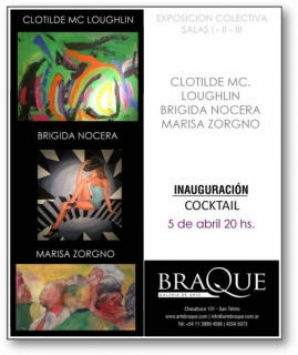 Clotilde Mc. Louglin - Brigida Nocera - Marisa Zorgno