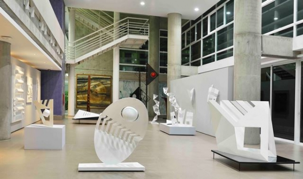 Vista interior de Sala Magis de Arte Contemporáneo