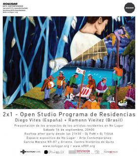 OPEN STUDIO PROGRAMA DE RESIDENCIAS