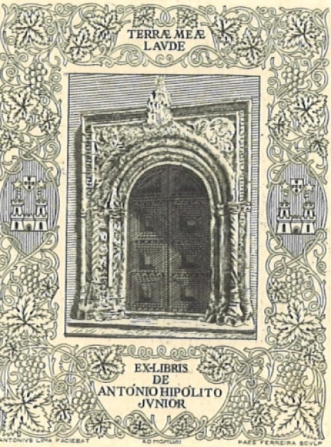 32 ex libris portugueses en la Colección Arrojo Muñoz — Cortesía del Museo Pérez Comendador-Leroux